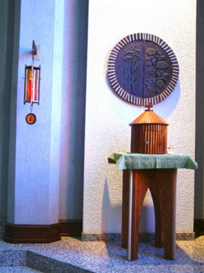 Tabernacle in the Adoration Chapel.jpg